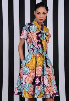 Demestiks New York Minnie Bell Dress via WeeBirdy.com