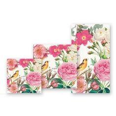 Michel Design Works Rose Garden Lunch Napkins, 20-Pack, 3-Ply
