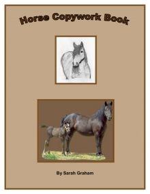 Horse Copywork Book