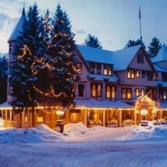 The Wentworth Hotel is  in the center of Jackson Village in the White Mountains of New Hampshire. http://www.visitingnewengland.com/hotelinfo/135263.html