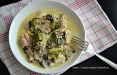 Αρνάκι ή κατσικάκι με μαρούλια αυγολέμονο - Κρήτη: Γαστρονομικός Περίπλους