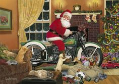 harley santa ... tom newsom