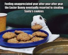 Thieving Easter Bunny