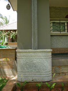 Multi-Chain Rainchain - Interesting, modern, contemporary twist on a traditional rainchain.