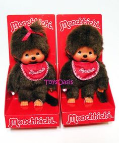 Monchhichi Monchhichi! I can still hear the song from the commercial :)