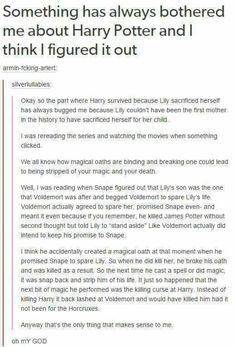 Harry Potter conspiracy theories