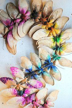 Textile work By Mr Finch  trop beau..... son travail est vraiment magnfique....!!!!