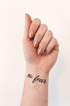 Encouraging Temporary Tattoos for Hard Days by Common Canopy: I love these encouraging temporary tattoos. Whenever I'm having a hard day, I can just put one on and it helps remind me to stay positive!