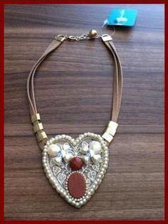 #colar #coracao #delicado