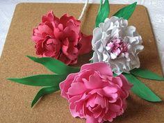 Цветы из фоамирана мастер класс пион.Часть 2 - YouTube