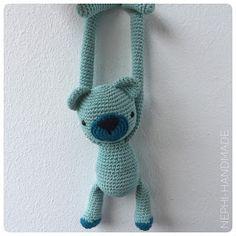 Nephi-Handmade, Polarbär, #häkeln #Amigurumi #crochet
