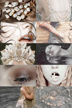 mermaid witch aesthetic (requested) { more here } { request here }