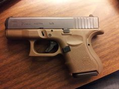 You're not bulletproof... Glock 26  The sub-compact 9x19mm Gen 4 Glock. Although they are quite small and easy to conceal, a lot of people are hoping Glock releases a single stack slim profile 9mm about the same size as the Glock 42, the .380 ACP model. (GRH)