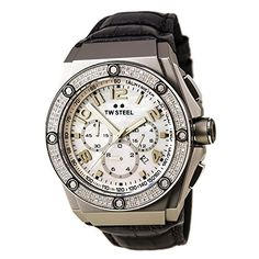 New TW Steel TWS online. Find great deals on TW Steel mens watches from top watches store - watchestrendy Simple Watches, Cute Watches, Vintage Watches, Grey Leather, Leather Men, Brand Name Watches, Luxury Watches For Men, Watch Sale, Rolex Watches