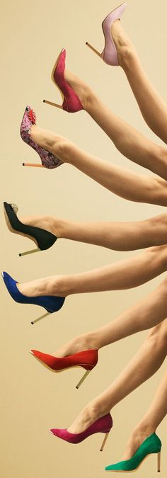 Ted Baker London AW 2014 ● Ted Baker London 'Elvena' Pump + Annabella Pointy Pump.
