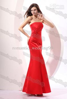 672976f7d6ec Wholesale Oscar Awards Hot Sexy Red Trumpet/Mermaid Strapless Red Carpet Formal  Dresses Sexy Celebrity Gowns, Free shipping, $94.5-110.33/Piece | DHgate