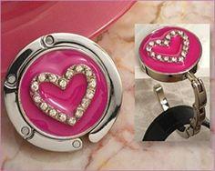 Chic Handbag Holder Favor Heart Design : Item# 3664 Price $4.99 each