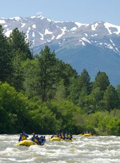 Whitewater rafting in Colorado is hard to beat! Echo Canyon River Expeditions in Canon City is Colorado's largest commercial river outfitter. Places To Travel, Oh The Places You'll Go, Places To Visit, Snowshoe, Rafting In Colorado, Living In Colorado, Whitewater Rafting, Canyon River, The Great Outdoors