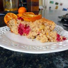 Cranberry Kumquat Coffee Cake by SumptuousSpoonfuls