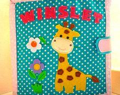 Personalizada libro tranquila, libro ocupado, libro de actividades para niños, libro con el contenido, libro de los niños de 1 a 4 años (14 páginas)
