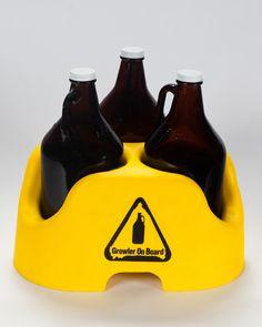 Growler On Board - beer transport units