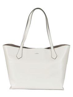 HOGAN Hogan Leather Shopper Bag. #hogan #bags #shoulder bags #hand bags #leather #hobo #metallic #