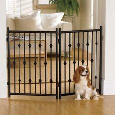 Wrought Iron Pet Gate Panel