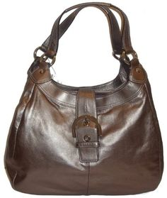 Coach Soho Leather Lynn Large Hobo Tote Handbag « Holiday Adds