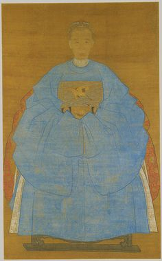Portrait of an Old Lady Zude (Chinese, surname unknown; active 16th or early 17th century) China Hanging scroll; ink and color on silk; 61 3/4 x 37 7/8 in. (156.8 x 96.2 cm)