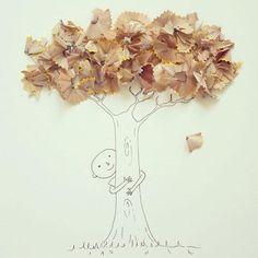 Минималистични илюстрации, направени с много въображение | High View Art