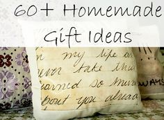 diy christmas gifts | You'll find gift ideas for babies, moms, kids, guys, teens, and of ...