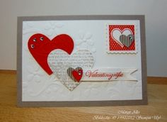 Love the hearts. Esp. if use love paper for the one...