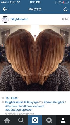 Awesome Ombre on medium brown length hair!