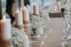Elegant Wedding Table Setting:  #weddingdecor #weddingideas #tabledecoration #elisaluca2017