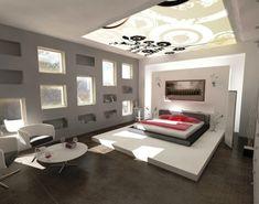 Farbgestaltung fürs Jugendzimmer – 100 Deko- und Einrichtungsideen - schlafzimmer beleuchtung tageslicht bett teenage indirekte