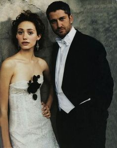 Emmy Rossum and Gerard Butler - Great actors and great singers. What I admire from them is Emmy's hair and voice (I love her hair!!!) and of course Gerard Butler is just plain awesome in every way, completely in love with his voice (AND he's irresistible too ;)