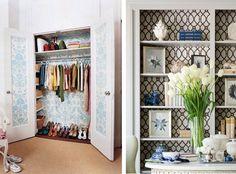 10 Ideas para utilizar papel pintado (sin ser en paredes!)