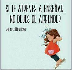 #enseñar #aprender