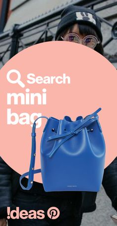 """The mini bag is big on purse-onality and measures up with searches at +230% right now. Search """"mini bag"""" to find your new fall companion."""