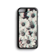 iPhone Case Grunge Flowers Trendy Art For iPhone 4, iPhone 5, iPhone 5c, iPhone 6, iPhone 6 Plus with FREE iPhone Tempered Glass Screen PRO*