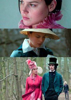 Abbie Cornish (Fanny Brawne) & Ben Whishaw (John Keats) - Bright Star (2009) #johnkeats #janecampion #fannybrawne