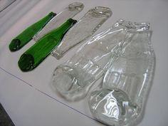 Como soy fanática de reciclar botellas de vidrio hoy les traigo como convertirlas en bandeja......