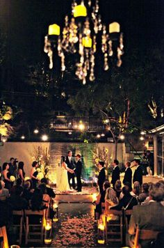 Kristen and Ryan: A Candlelit Affair at seven-degrees