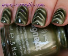Scrangie reviews the China Glaze Magnetix Collection at  http://www.scrangie.com/2012/02/china-glaze-magnetix-collection-spring.html