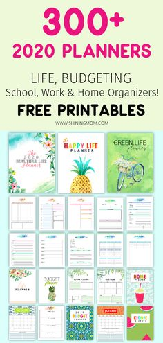 Free Planner Printables to Organize Your Whole Life! Free Planner Printables to Organize Your Whole Life! Free Planner Printables to Organize Your Whole Life! To Do Planner, Happy Planner, 2015 Planner, Planner Diy, Home School Planner, House Planner, Planner Journal, Weekly Planner, Journal Cards