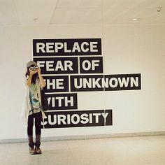 Replace Fear /observando
