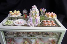 Pastry counter for Carolyn V. by goddess of chocolate, via Flickr