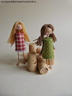 La classe della maestra Valentina: bambole