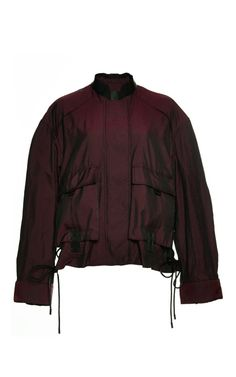 Constructed Bomber With Webbing Detail 2a5639f96fd01