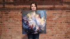 Melissa McCracken thought everyone associated colors with music the same way she did. But she soon realized that her senses were unique. The Kansas City-based artist is a synesthete, and she is able to translate sound into vivid paintings. Talk about seeing the world in a different light.